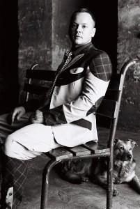 Marcel Fengler in der Pfingstweide